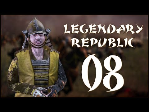 DEFENDING KYOTO - Obama (Legendary Republic) - Fall of the Samurai - Ep.08!