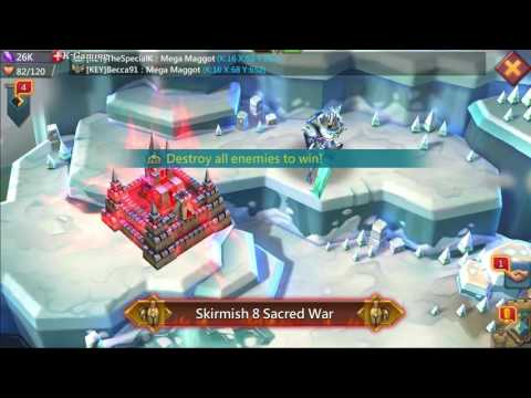 LORDS MOBILE - Skirmish 8 Sacred War