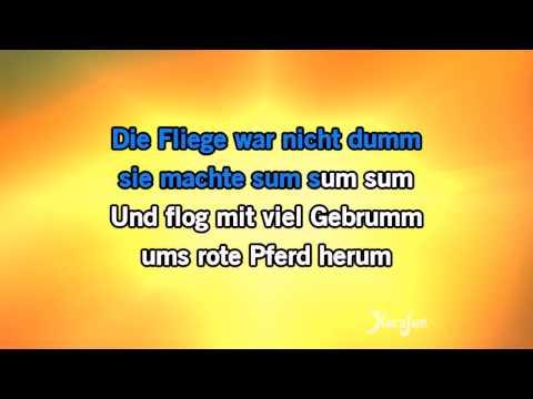 Karaoke Das rote pferd - Markus Becker *