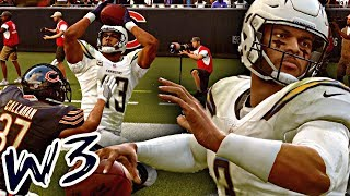 MADDEN 19 CAREER MODE - KEENAN ALLEN BOSSING UP ON DEFENDERS! INJURIES CHANGE THINGS FOR OUR TEAM!