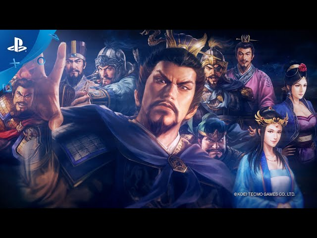 Romance of the Three Kingdoms XIV - Launch Trailer | PS4