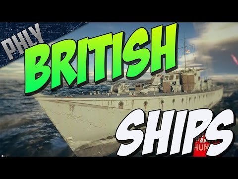 BRITISH SHIPS GAMEPLAY - Fairmile D GUN BOAT (War Thunder Naval Forces)