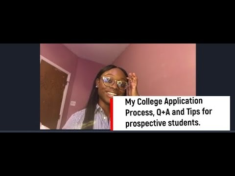 CAU   My College Application Process, Q+A and Tips for prospective students