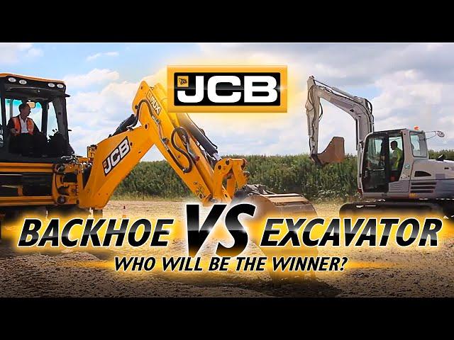 Backhoe vs Excavator
