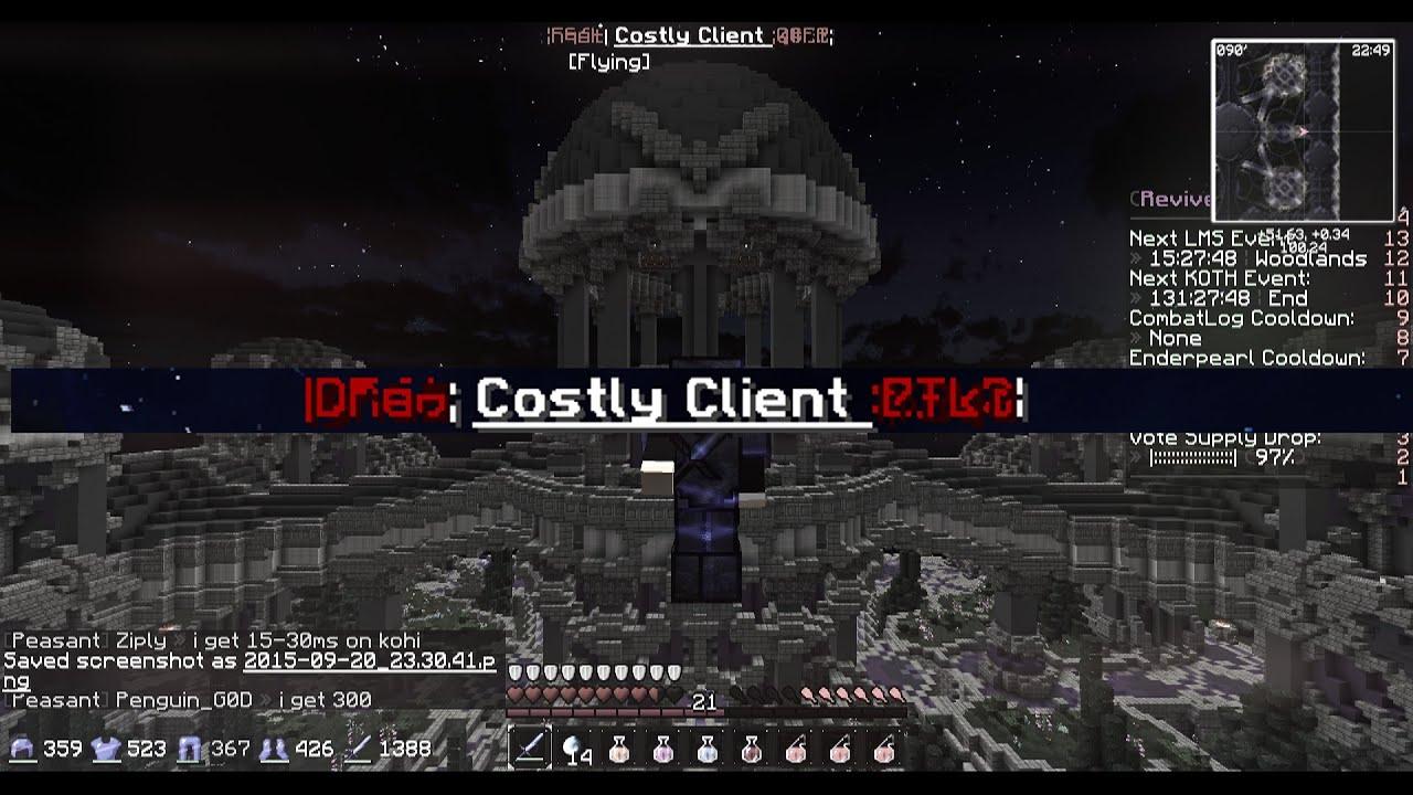 Скачать клиент с модом конец света