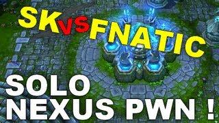 iem sk gaming vs fnatic xpeke solo nexus pwn