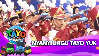 WOW! Lagu Tayo versi Marchingband