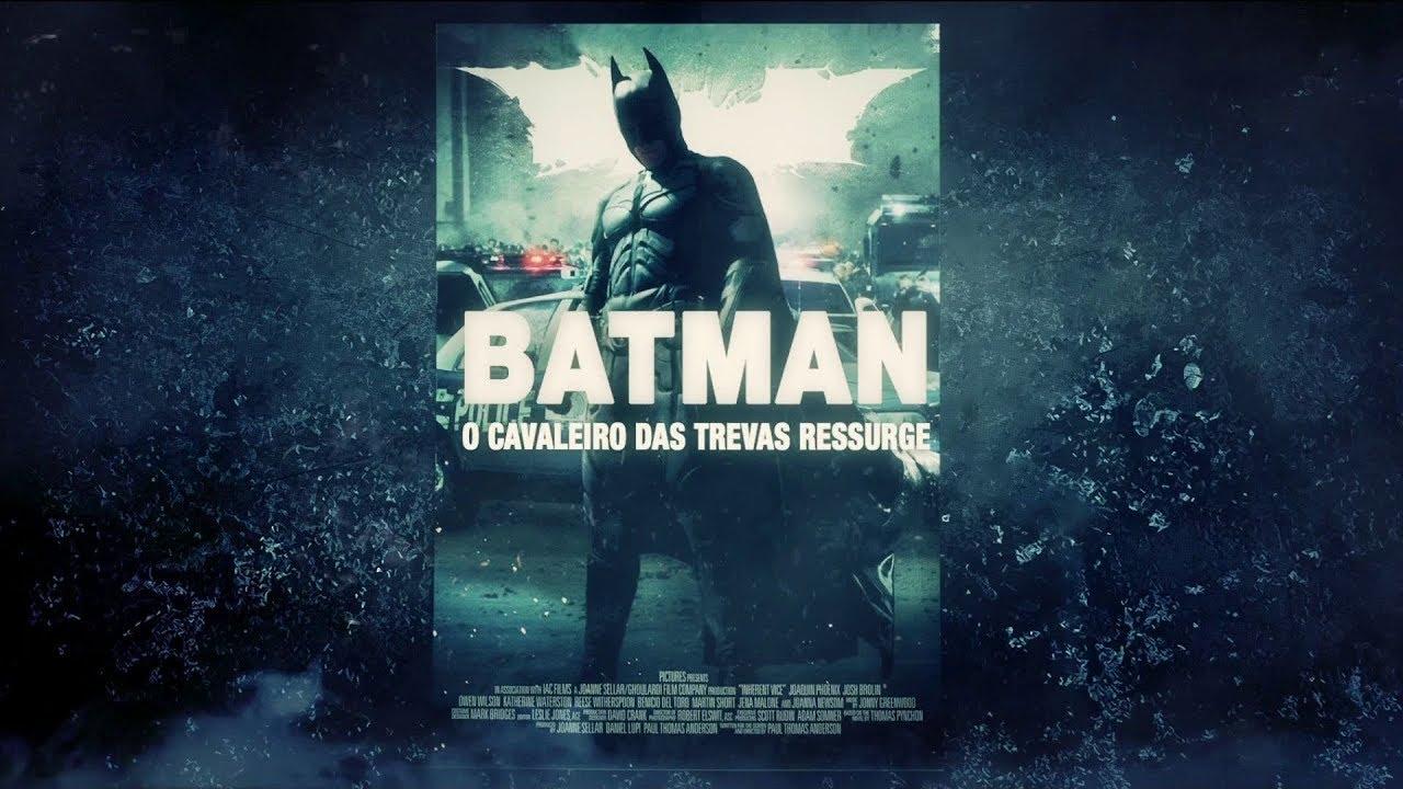 Chamada Do Filme Batman O Cavaleiro Das Trevas Ressurge Em Tela
