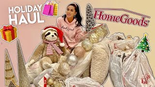 Download HomeGoods Holiday Haul | Dhar and Laura Mp3 and Videos