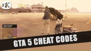 GTA V Cheat Codes!