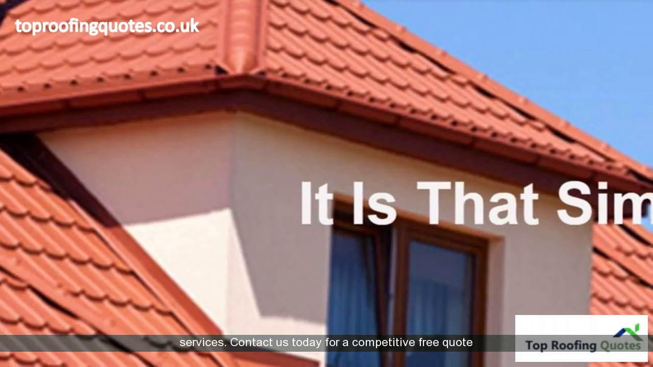 Roofers Harold Hill Http Toproofingquotes Co Uk Youtube