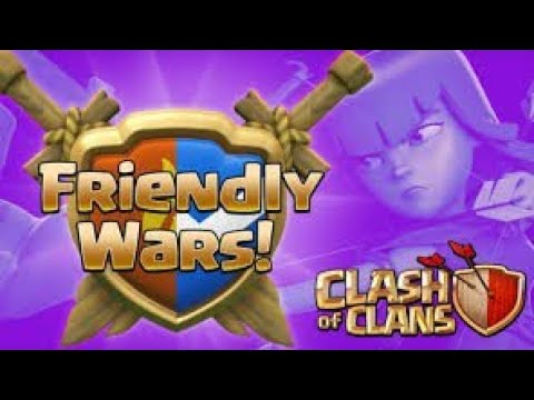 How To Start Friendly War In Coc || Coc Me Friendly War Kaise Lade | Friendly Coc War In Hindi