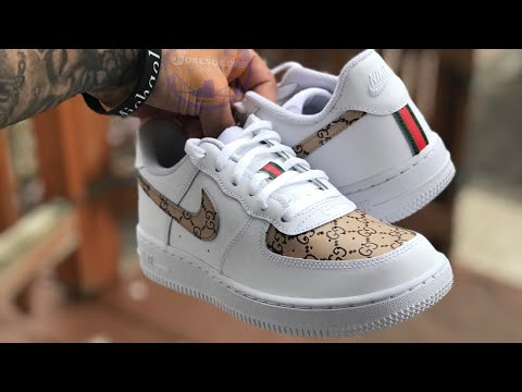 Custom Gucci Af1 Low Youtube