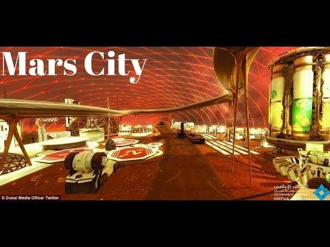 Mars City The World's First Future Smart City, Mars City Dubai