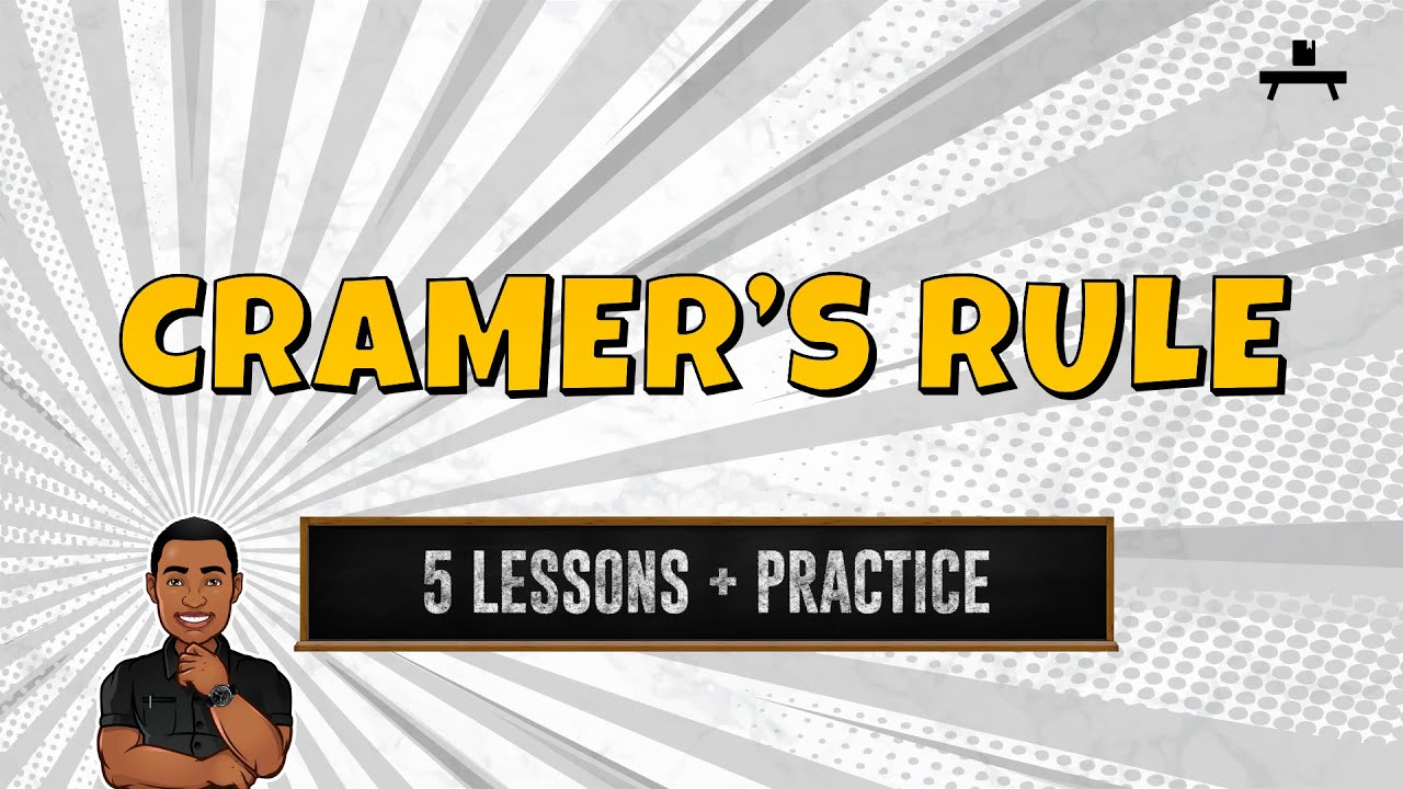 Algebra: Cramer's Rule