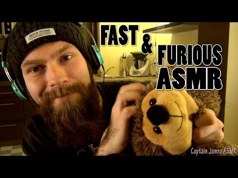 Fast & Furious ASMR Tingles (Crazy, Extreme & Aggressive Tapping and Scratching)