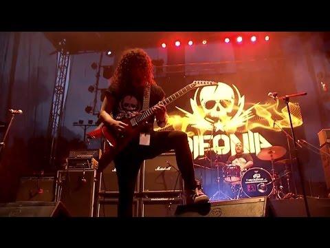 Charlie Parra HQ live guitar solos / solos de guitarra en vivo Medellín 2015