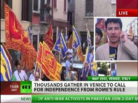 'We will be richest in Europe': Venice wants independence from Rome