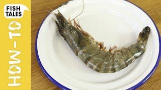 How to PEEL, CLEAN u0026 DEVEIN PRAWNS and Shrimp | Bart van Olphen
