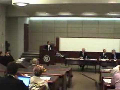 World Intellectual Property Org. Conference Panel 1