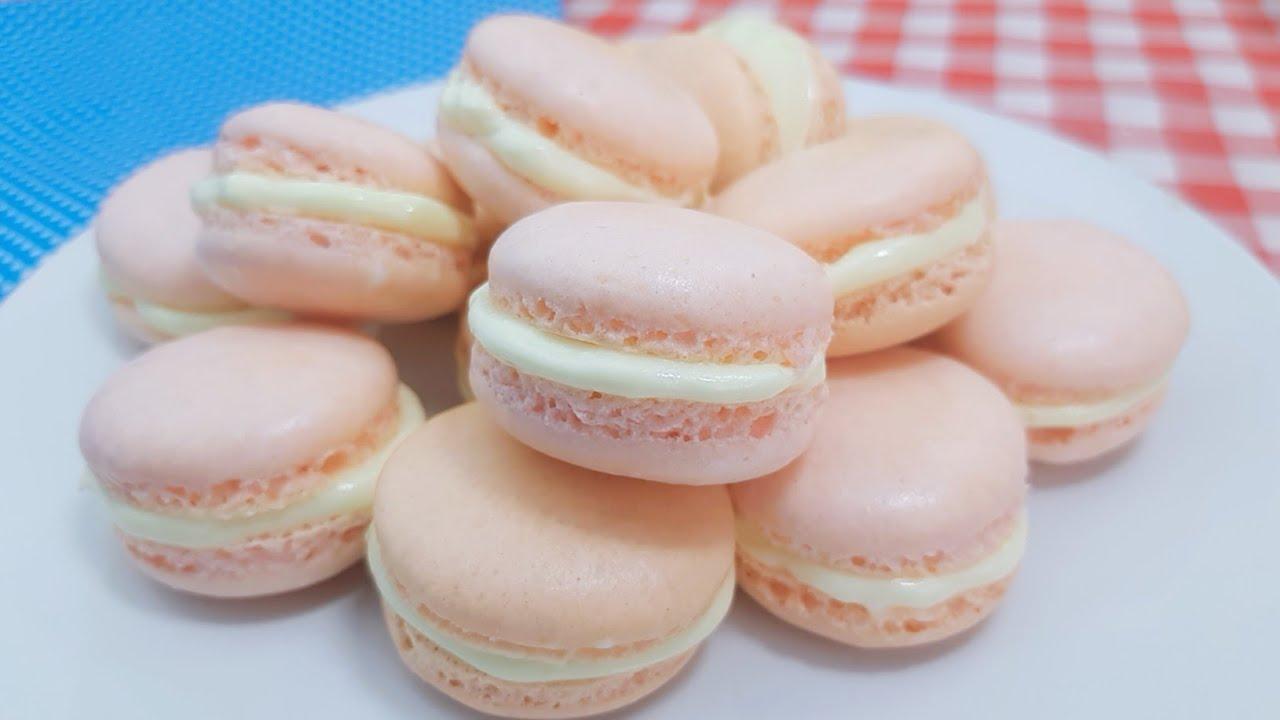 มาการอง ไม่ใส่แป้งอัลมอนด์ Macarons without Almond flour  พร้อมคำนวณต้นทุน | new new eat food