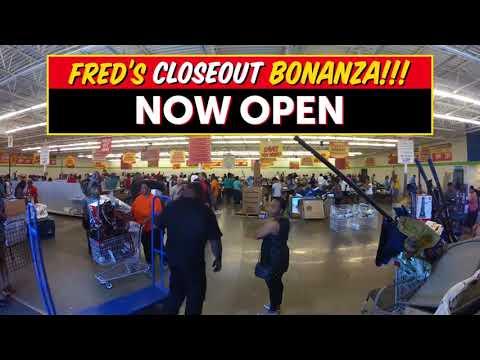 Fred's Closeout Bonanza
