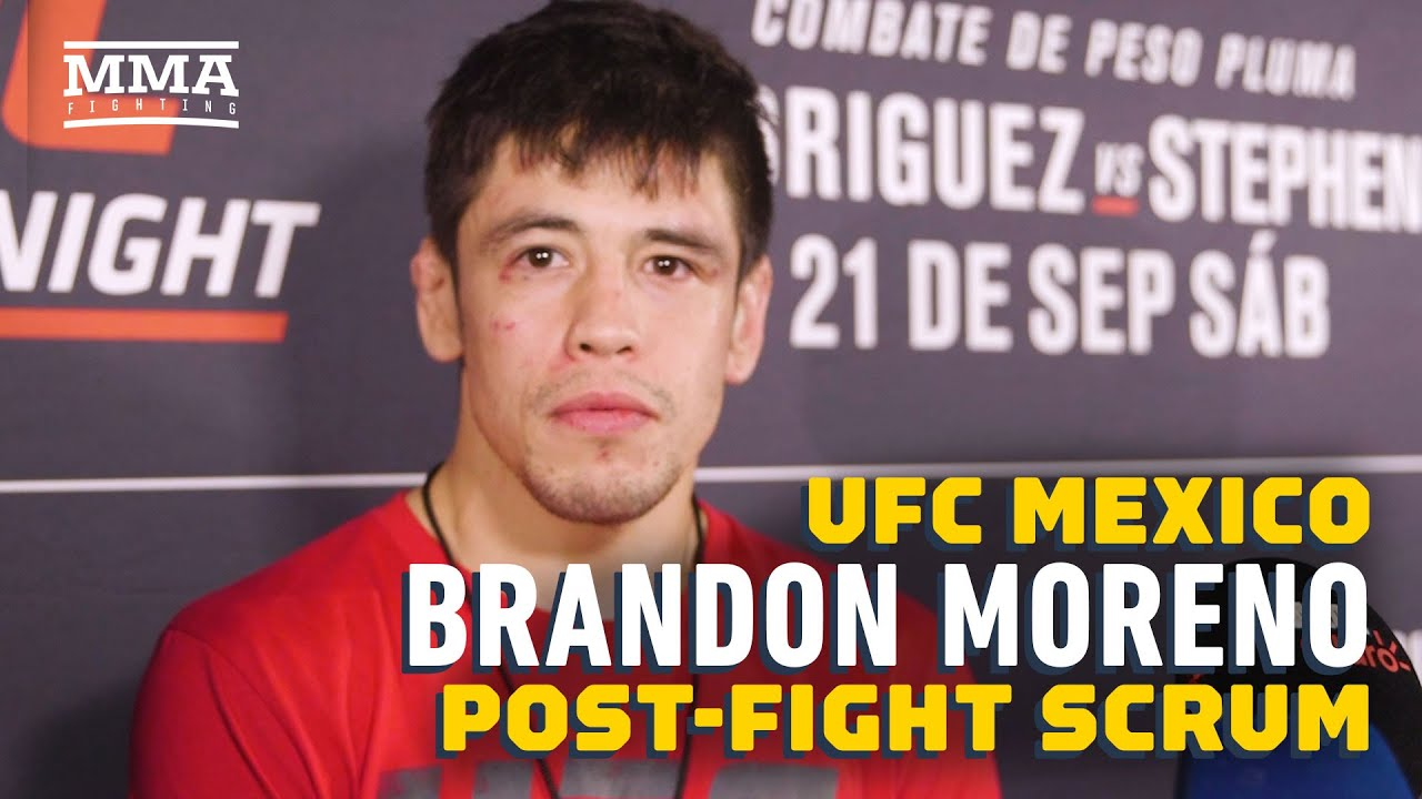 UFC Mexico: Brandon Moreno Knows He Won Two Rounds Against Askar Askarov - MMA Fighting