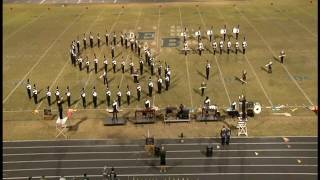 John S. Battle Marching Band - East Burke Band Competition 2016