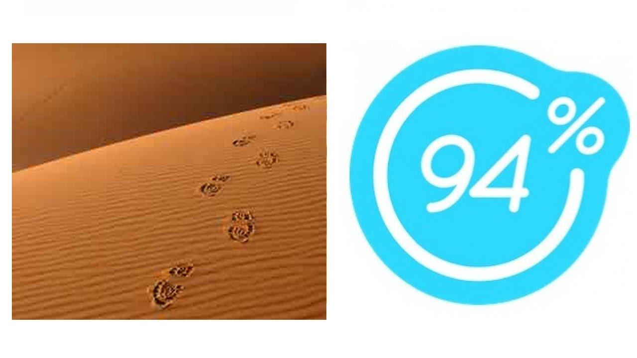 Игра 94% Картинка Следы в пустыне | Ответы на 19 уровень ...
