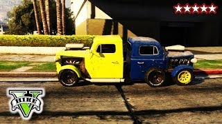 GTA 5 RAT-LOADER Special - CUSTOM GTA TRUCKS - The Rat Train Glitch Grand Theft Auto 5