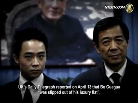 Bo Guagua and Lulu Wang Sought Foreign Protection