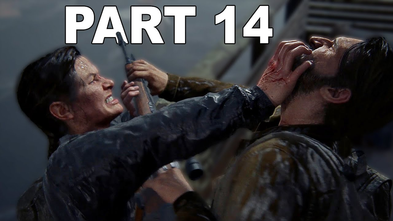 THE LAST OF US 2 | PART 14 - ABBY vs TOMMY (PS4 Pro Gameplay)