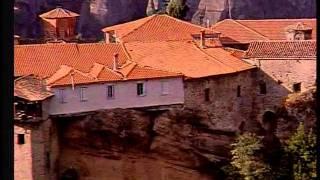 Святые Метеоры.(Святые Метеоры - это монашеская страна, расположенная в горах Фессалии, на севере Греции. Грандиозные скалы,..., 2011-10-21T10:43:24.000Z)