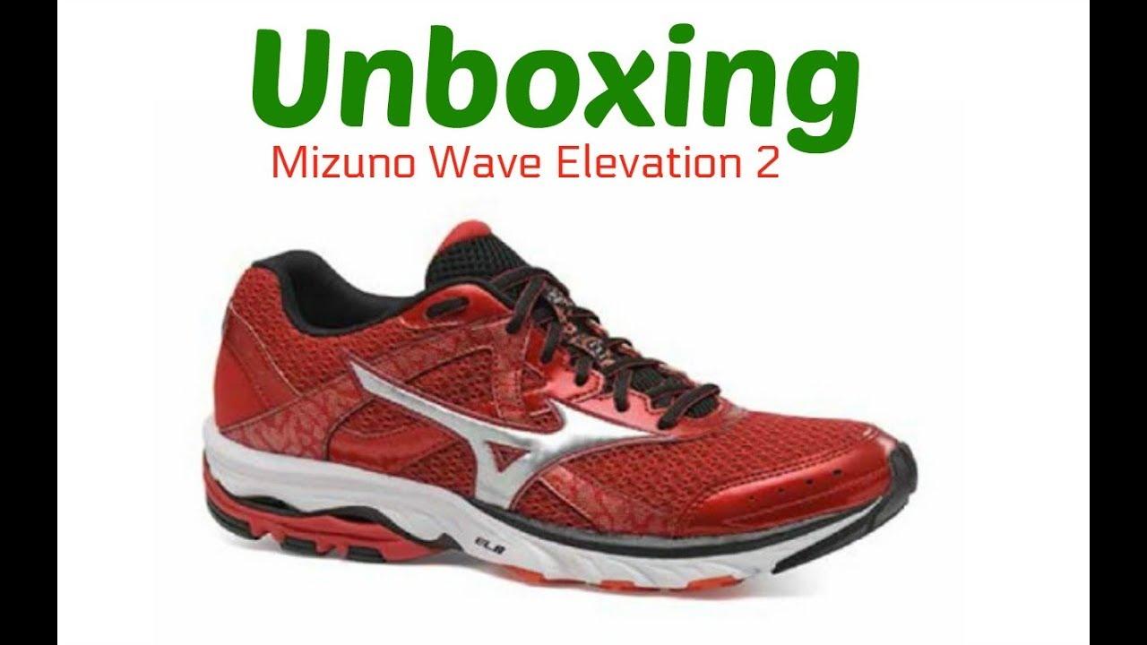 mizuno wave elevation red
