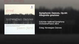 Symphonic Dances, Op.64: Allegretto grazioso
