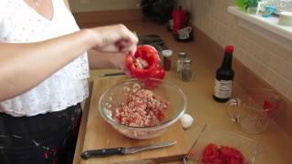 Stuffed Peppers With Instant Rice *easy Recipes For Two