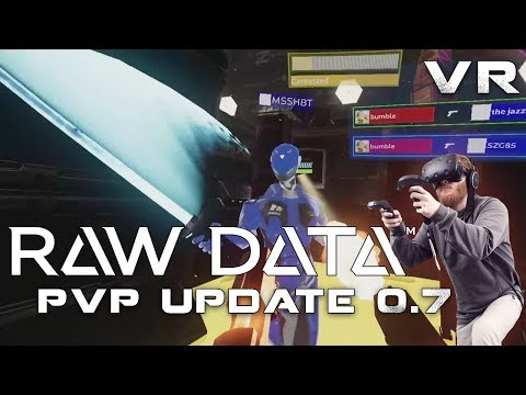"""Raw Data VR Update 0.7 """"Rogue"""": New class, new mission, and PvP mode"""