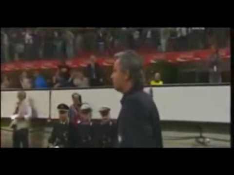 jose mourinho show all'inter .wmv