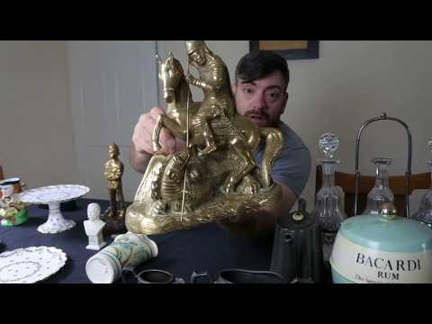 Car Boot Sale Buying Buys for Ebay Resale Selling Art Nouveau Jewellery Brass etc