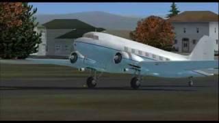 MAAM Douglas DC-3 Circuit at Tacoma Narrows