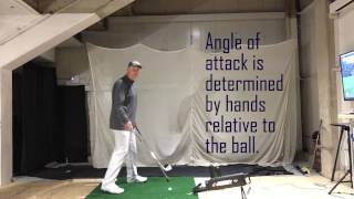 "Understand how to control ""Shallow"" at impact not in transition."
