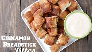 Cinnamon Breadstick Bites Recipe