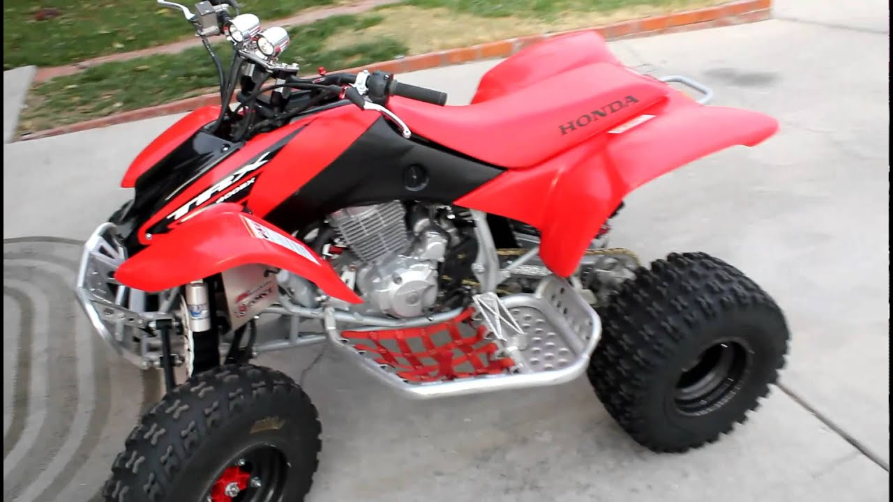 '05 Honda TRX400EX - YouTube