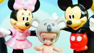Twozies & Klub Przyjaciół Myszki Miki | Słodziaki u Mikiego | Bajki dla dzieci