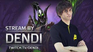 Dota 2 Stream: Na`Vi Dendi playing Rubick (Gameplay & Commentary)