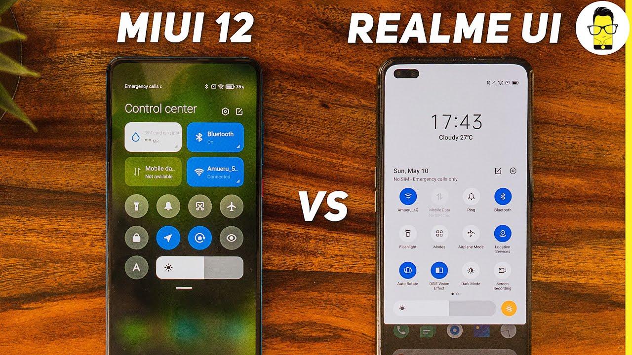 MIUI 12 vs Realme UI comparison review - the only Xiaomi vs Realme battle that matters!