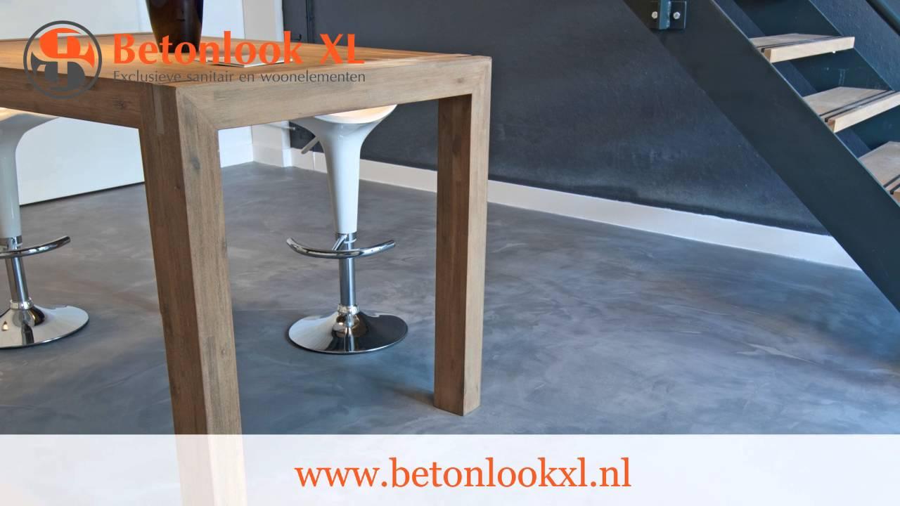 Betonlook Badkamer Maken : Betonlook voor badkamer vloer toilet keuken douche en meer