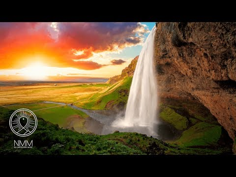 Relaxing Sleep Music 432hz: sleeping near the waterfall, sleep meditation, relax music 30908S