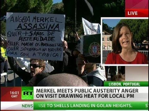 Who's the real enemy? 'Merkel lying, Portugal bankrupt'