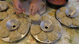 Как приготовить настоящие узбекские манты